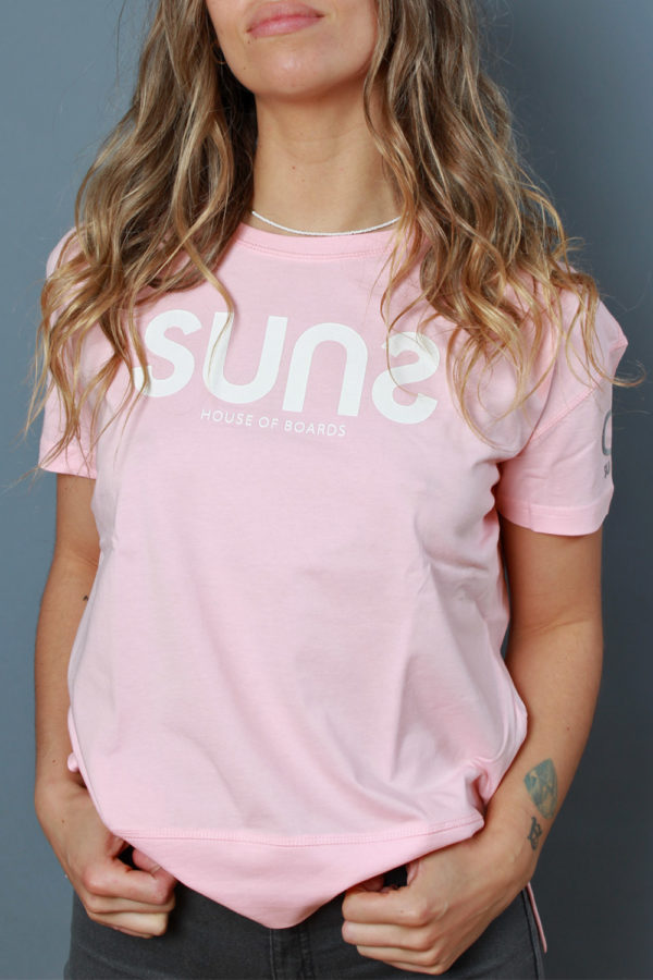 SUNSTRIPES DONNA - T-shirt Beatrilogo rosa