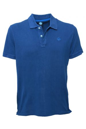 North Sails Polo SS WLogo Ocean Blue